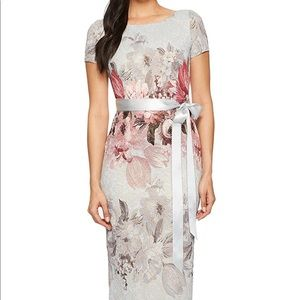 Long Floral Formal Dress